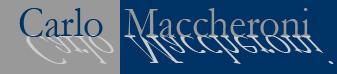 Carlo Maccheroni Logo